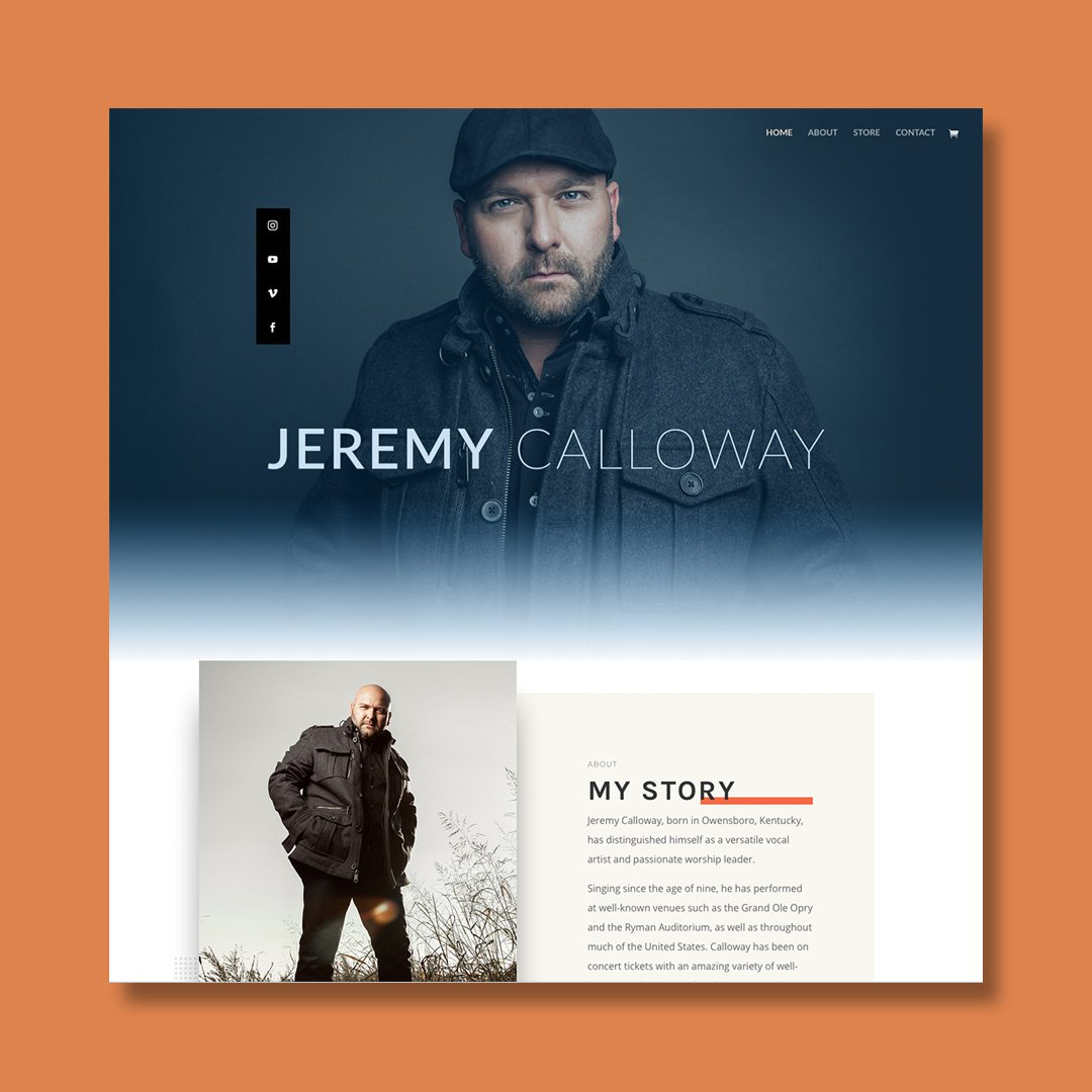 Jeremy Calloway Website