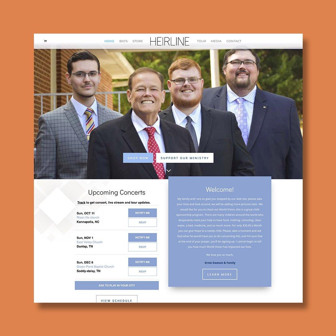 Heirline Website