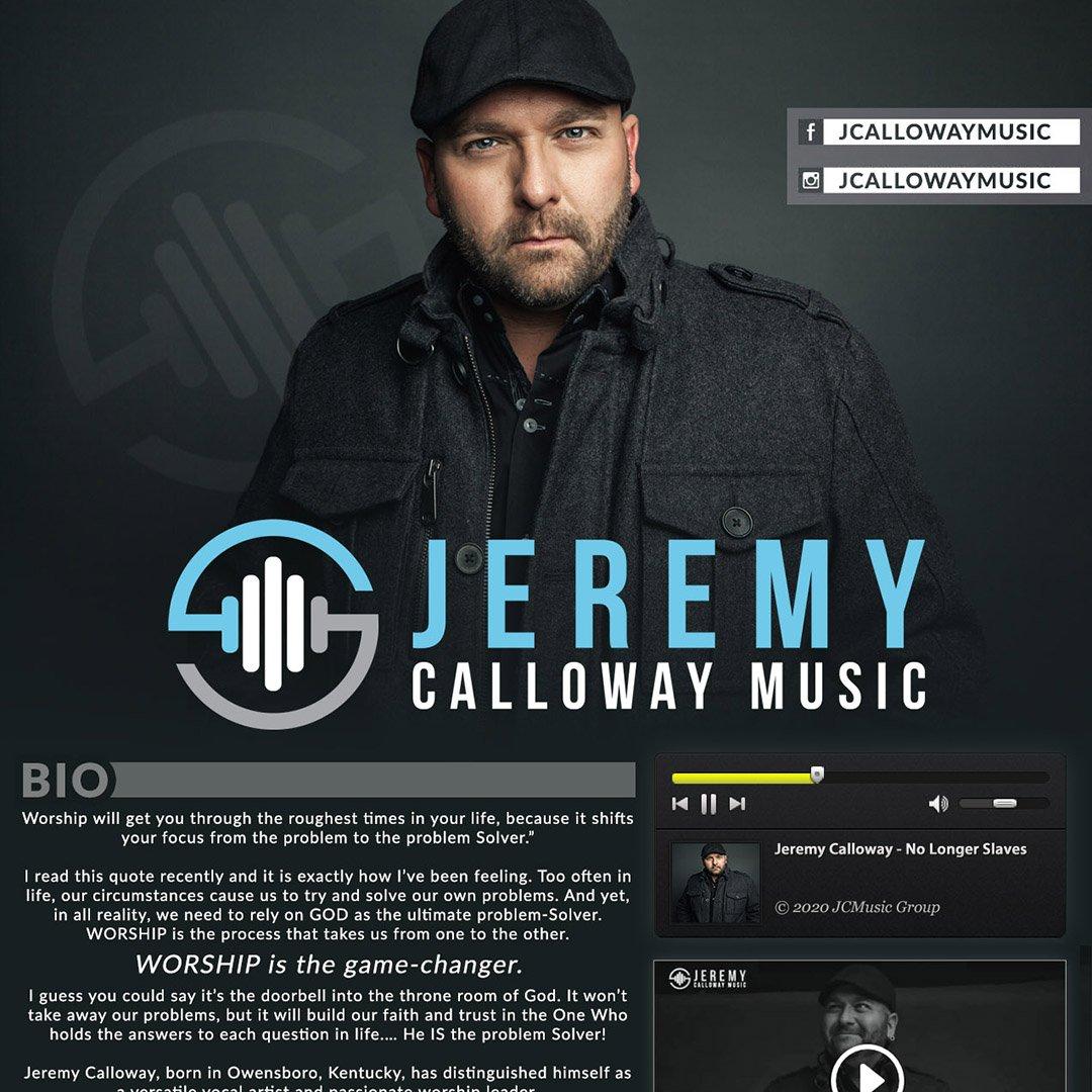 Jeremy Calloway One Sheet