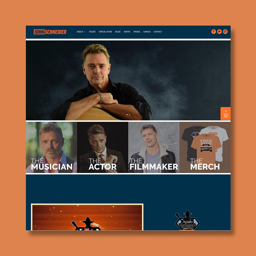 John Schneider Website
