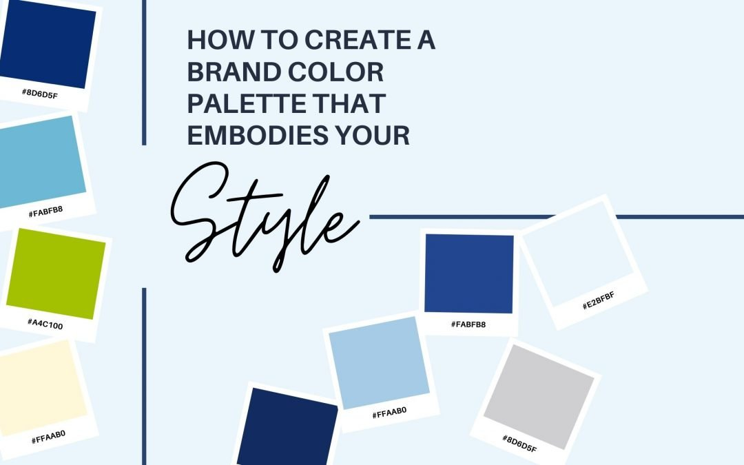 How To Create An Effective Color Palette For Your Brand