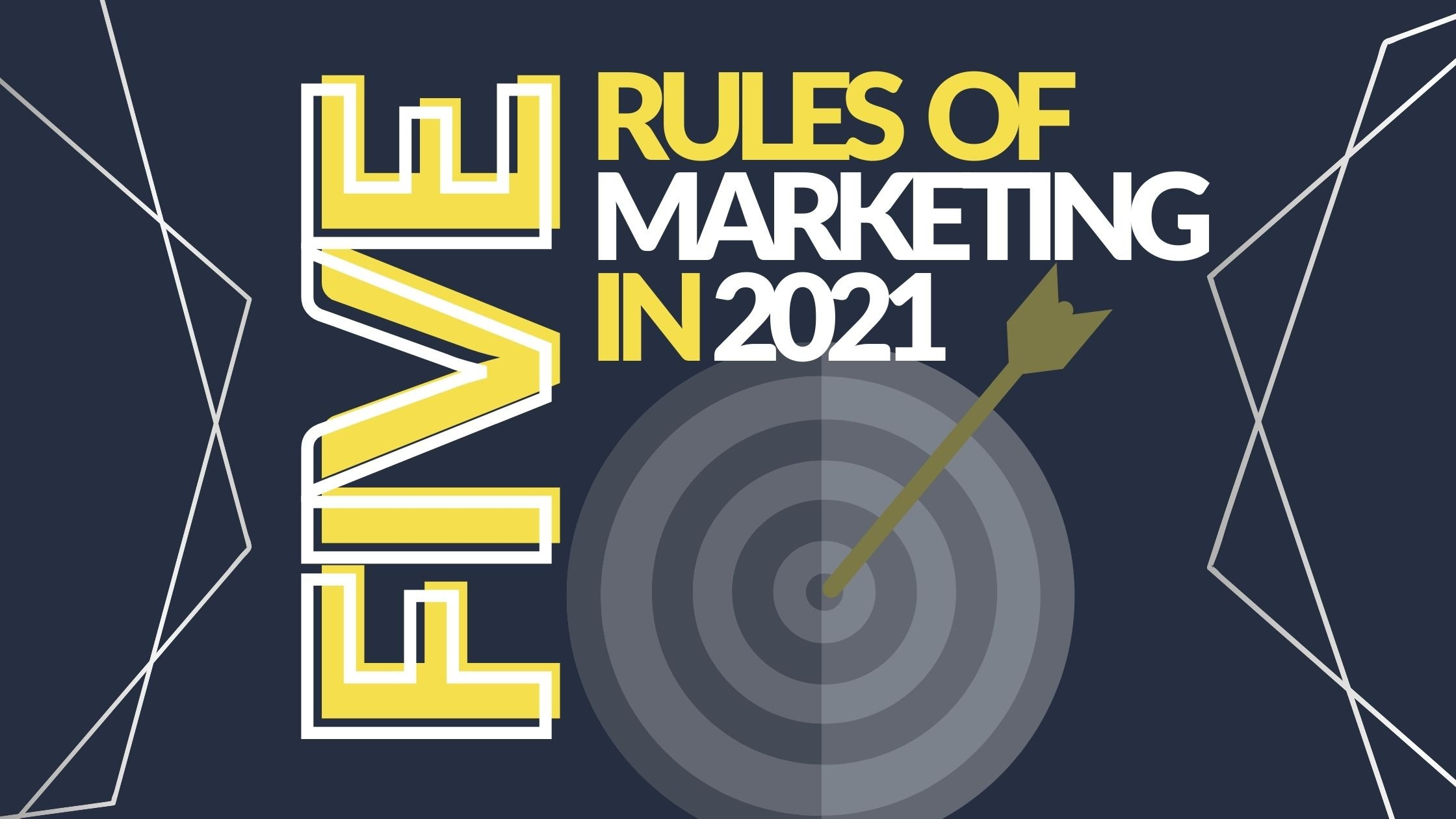 5 New Rules of Marketing in 2021